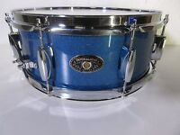 """Tama Imperialstar Snare Drum 14 X 5.5""""  Ocean Blue Mist  8 Lugs Poplar"""