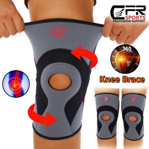 Knee Support Compression Sleeve Patella Brace Sport Joint Stabilizer Arthritis