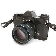 Asahi Pentax ES SLR camera with Takumar 50mm f1.4 M42 lens