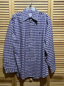 NWOT Brooks Brothers 346 dress  shirt size medium Long Sleeve Button Front