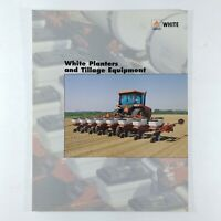 White Planters and Tillage Equipment Sales Brochure Buyers Guide Agco Farming