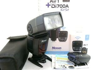 Nissin Air 1 Commander + Di700A Shoe Mount Flash for Canon EOS boxed EXC++