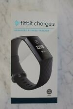 Fitbit Charge 3 Activity Tracker - Black Band / Graphite Aluminum - Nice Cond.