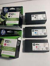 HP 950XL/951 (C2P01FN) Black/Cyan/Magenta Ink Cartridge Ex 10/19, 10/19, 05/19