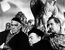 Vincent Price, Boris Karloff and Peter Lorre UNSIGNED photo - B3113 - The Raven