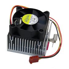New Akasa Aluminium Socket A/370 CPU Fan And Heat Sink AK-CC039