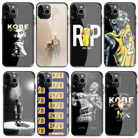 Kobe Bryant love 24 8 Tempered Glass Case for iPhone 11 Pro Xr X XS Max 8 7 6 6s