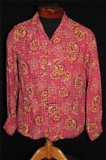 Abbigliamento vintage da uomo rosso taglia S