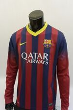 Nike FC Barcelona 2014-2015 BARCA Home Shirt Jersey Long Sleeve SIZE L (adults)