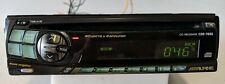 Old School ALPINE CDM-7856 CD Player - Tested Fully -