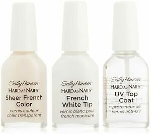 Sally Hansen Hard As Nails French Manicure Kit - Choose Your Color - Read Below