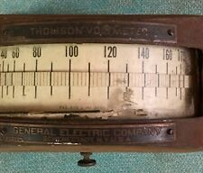 Antique Voltmeter 1901. Thompson General Electric