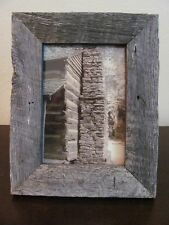 5x7 Vertical Sepia Photo in Rustic Wood Frame ~ Chimney