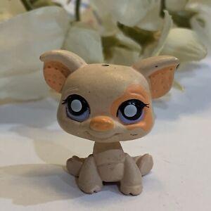 Littlest Pet Shop LPS Authentic Pink Orange Pig Dangler Tomy Gacha Mini X String