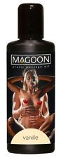 Olio per il massaggio erotico Sexy stimolante Bottiglia 100 ml Magoon vaniglia