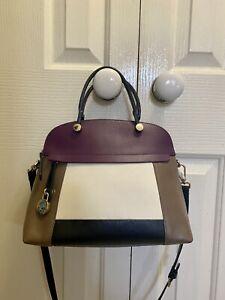 Leather Italian Furla Handbag