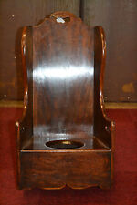 Antique Georgian 18th century Childs Mahogany Rocking Chair, Potty Hole,c1790