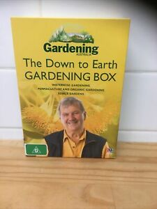 THE DOWN TO EARTH GARDENING BOX  3 XDVDS BGC + Free Delivery