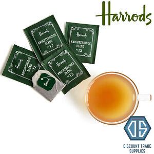 5x Harrods Knightsbridge Blend No.12 Tea Bags Ceylon & Assam Easy to Brew Tea