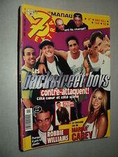 7 EXTRA 99/11 (17/3/99) BACKSTREET BOYS BSB MARIAH CAREY ROBBIE WILLIAMS MANAU