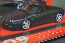 1:43 MINICHAMPS 436120332 Alfa Romeo Spider Fulda 2003 Black model cars