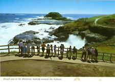 Ventnor, Phillip Island, Australia Blowhole looking at Nobbies unused postcard