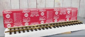 LGB (10600)  12 PIECES OF 2 FOOT SECTIONS OF G SCALE STRAIGHT TRACK - Brand New!