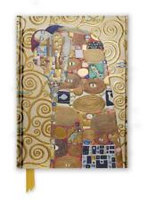 Klimt Erfüllung, Stoclet Fries (Folien Tagebuch) (Flamme Baum Notebooks) by Flam