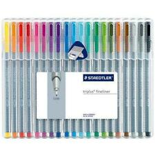 Staedtler Triplus Fineliner Set 20pcs Assorted Colors 334 Sb20 Brilliant Colours