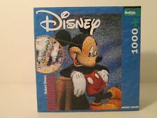 Disney Photomosaics Mickey Mouse 1000 Piece Puzzle & Poster