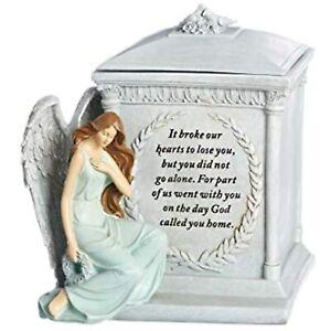 "Roman, Giftware 8.27""H~God Called You Home~Memorial Keepsake Box, Resin/Stone"