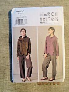 Size 16-24 Designer Original FF PLUS Marcy Tilton Misses/' Jacket and Vest Vogue - UNCUT #V8982 Sewing Pattern