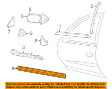 Pontiac GM OEM 95-02 Sunfire FRONT DOOR-Body Side Molding Left 88892079