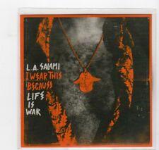 (HU746) L.A. Salami, I Wear This Because Life Is War - DJ CD