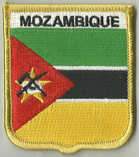 MOZAMBIQUE FLAG WORLD EMBROIDERED PATCH BADGE