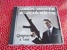 JACK WHITE/ ALICIA KEYS ANOTHER WAY TO DIE CD SINGLE 2 TRACKS PROMO ONLY NEW