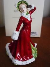 Royal Doulton Pretty Ladies Winter Romance 2011 Figure of Year Hn5435 - New/Box!