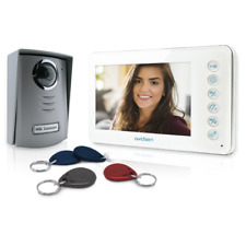 "Avidsen Video Door Phone Intercom Camera Night Vision YLVA2+ 7"" screen"