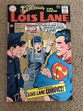 SUPERMAN'S GIRL FRIEND LOIS LAN #84 VG+ (DC 1968)