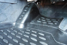 Rubber Floor Mats Ford Ranger T6 LIMITED Deep Tray Tailored Fit Mud Mats 5pc
