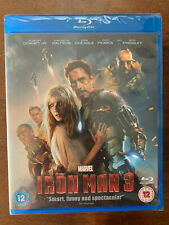 Iron Man Blu-ray 2013 Marvel Universe Action Move w/ Robert Downey Jr