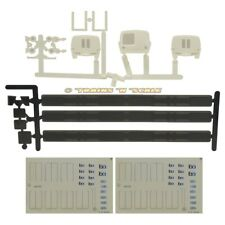 American GK Locomotive Works HO Bart Train Detail Parts and Dry Transfers Set