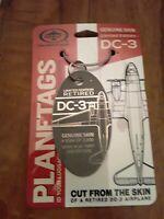 Douglas C-47 / DC-3 Planetags / Plane Tag - Free Shipping