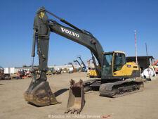 2012 Volvo Ec220Dl Hydraulic Excavator A/C Cab Aux Hyd Diesel Tractor bidadoo