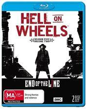 Hell On Wheels : Season 5 : Part 2 (Blu-ray, 2017, 2-Disc Set)