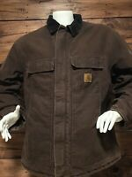 Carhartt Mens Jacket Size 2XL Reg. Brown