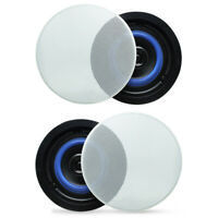 Herdio 160 Watts 2-Way Flush Mount in Ceiling/in Wall Speakers For Home
