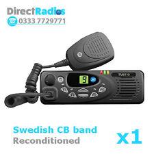 TAIT TM8110 VHF Lo Band 66-88 MHZ - Swedish CB band programming - Mobile Two Way