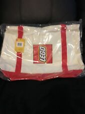 LEGO Exclusive Promotional Canvas Tote Bag 5005326 - Brand New