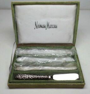 Vintage Godinger Silverplated Butter Knife Set , Lot of 4